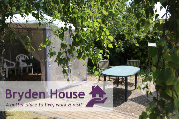 Bryden House Care Home Outdoors